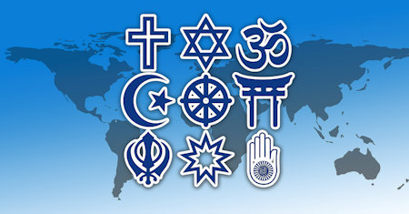 Illustration of Comparative Religion