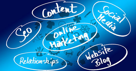 Illustration of Web Marketing