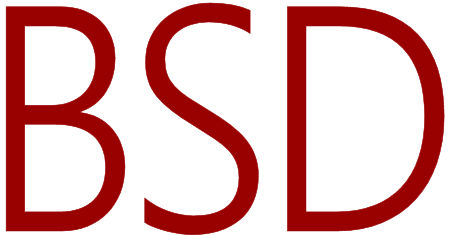 Illustration of BSD Operating System