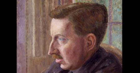 Illustration of E. M. Forster