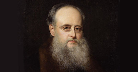 Illustration of Wilkie Collins