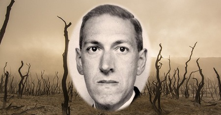 Illustration of H. P. Lovecraft