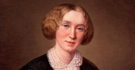 Illustration of George Eliot