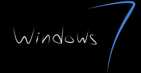 Illustration of Microsoft Windows 7