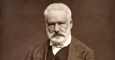 Illustration of Victor Hugo