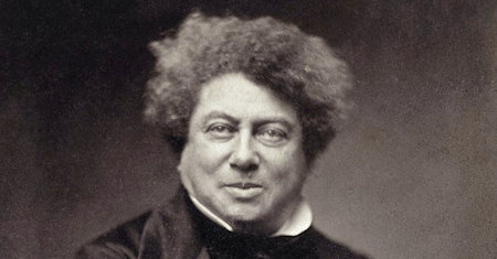Illustration of Alexandre Dumas