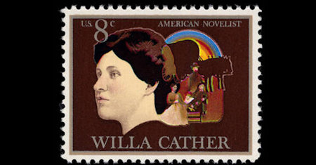 Illustration of Willa Cather