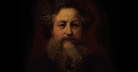 Illustration of William Morris