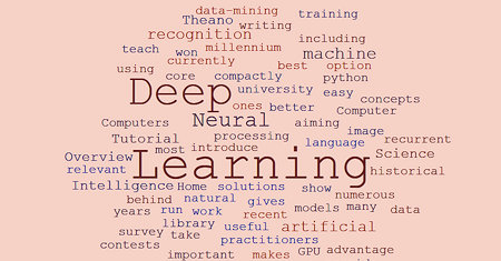 Illustration of Deep Learning