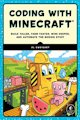 Book cover: Coding with Minecraft