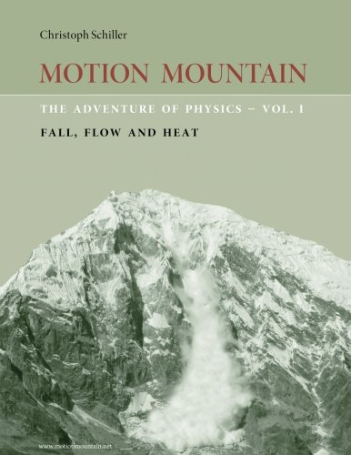 Large book cover: Motion Mountain