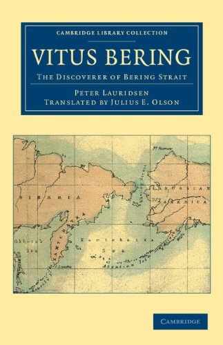 Large book cover: Vitus Bering: the Discoverer of Bering Strait