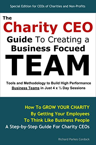 Large book cover: The Charity CEO Guide To Creating A Business Focused Team