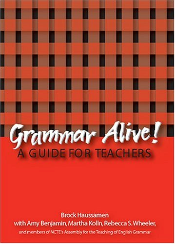 Large book cover: Grammar Alive: A Guide for Teachers