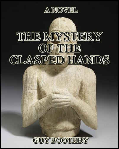 Large book cover: The Mystery of the Clasped Hands