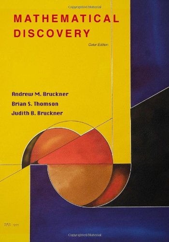 Large book cover: Mathematical Discovery