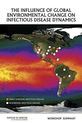 Large book cover: The Influence of Global Environmental Change on Infectious Disease Dynamics