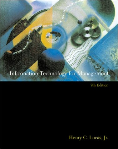 Large book cover: Information Technology for Management