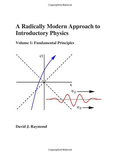 Large book cover: A Radically Modern Approach to Introductory Physics