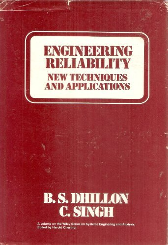 Large book cover: Engineering Reliability: New Techniques and Applications