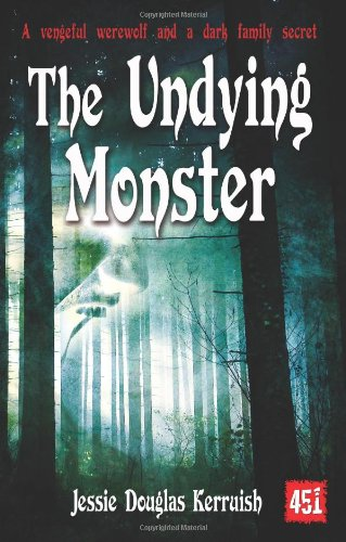 Large book cover: The Undying Monster: A Tale of the Fifth Dimension
