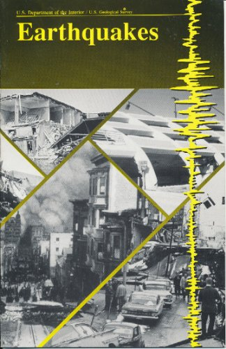 Large book cover: Earthquakes