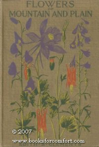 Large book cover: Flowers of Mountain and Plain