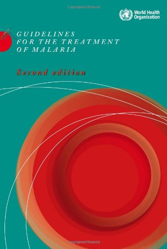 Large book cover: Guidelines for the Treatment of Malaria