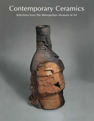 Large book cover: Contemporary Ceramics: Selections from The Metropolitan Museum of Art