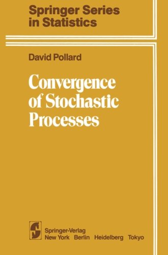 Large book cover: Convergence of Stochastic Processes