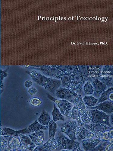 Large book cover: Principles of Toxicology