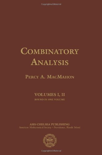 Large book cover: Combinatory Analysis