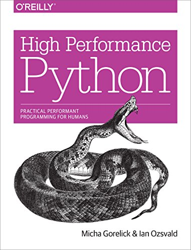 Large book cover: High Performance Python
