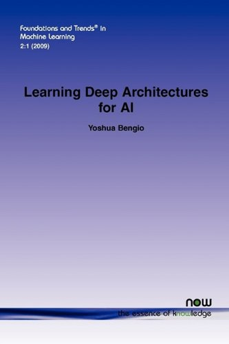 Large book cover: Learning Deep Architectures for AI