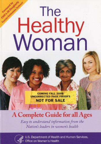 Large book cover: The Healthy Woman: A Complete Guide for All Ages