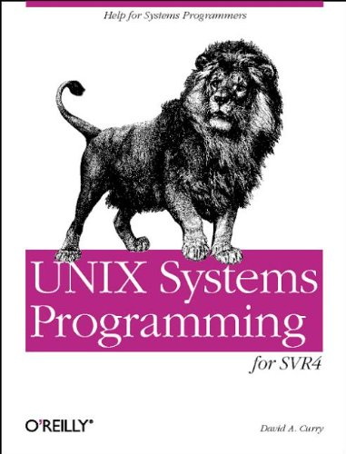 Large book cover: UNIX Systems Programming for SVR4