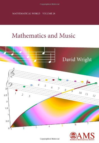 Large book cover: Mathematics and Music