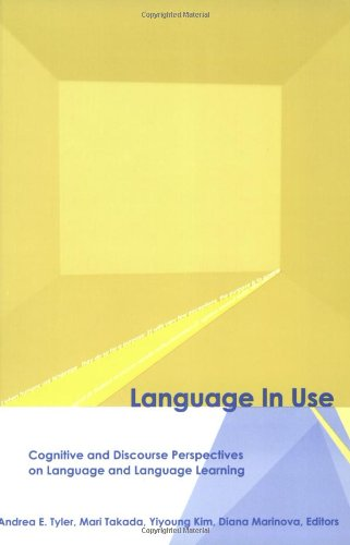 Large book cover: Language in Use: Cognitive and Discourse Perspectives on Language and Language Learning