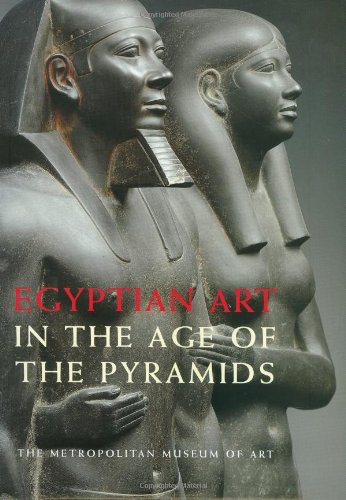 Large book cover: Egyptian Art in the Age of the Pyramids