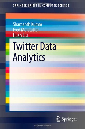 Large book cover: Twitter Data Analytics