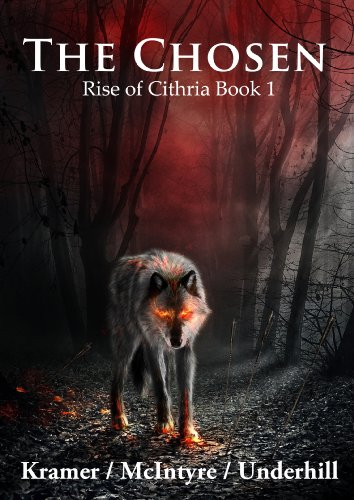 Large book cover: The Chosen: Rise of Cithria Part 1