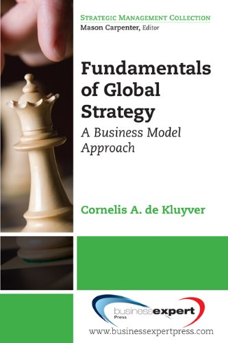 Large book cover: Fundamentals of Global Strategy