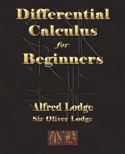 Large book cover: Differential Calculus for Beginners