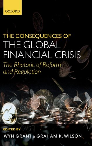 Large book cover: Consequences of the Global Financial Crisis