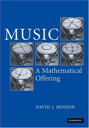 Large book cover: Music: A Mathematical Offering
