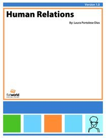 Large book cover: Human Relations