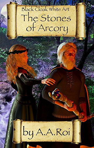 Large book cover: The Stones of Arcory