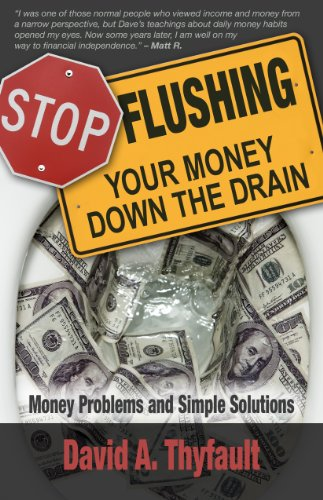 Large book cover: Stop Flushing Your Money Down the Drain