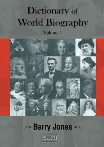 Large book cover: Dictionary of World Biography