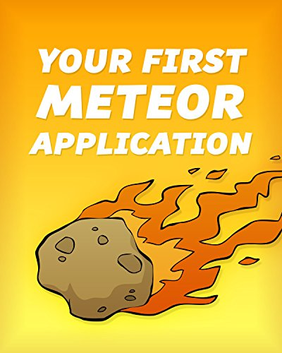 Large book cover: Your First Meteor Application